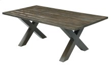 Emerald Home Metro II Grc Dining Table Kit Bark Brown Od1026-10grc-k
