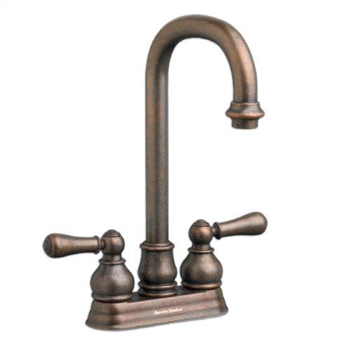 Hampton 2-Handle High-Arc Bar Sink Faucet  American Standard - Polished Chrome