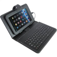 Polaroid 7 Inch Tablet Keyboard Stand, Black - PAC3201