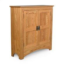 Prairie Mission Double Door Cabinet