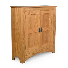 Prairie Mission Double Door Cabinet