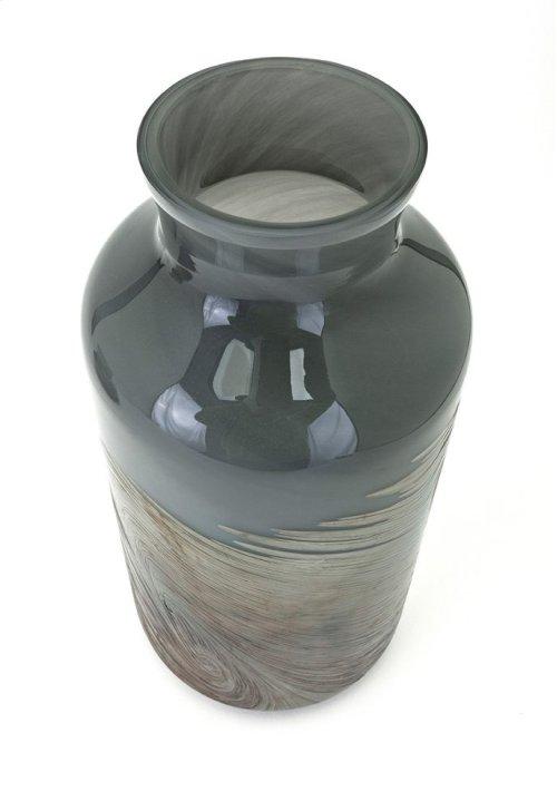 Montag Large Art Glass Vase