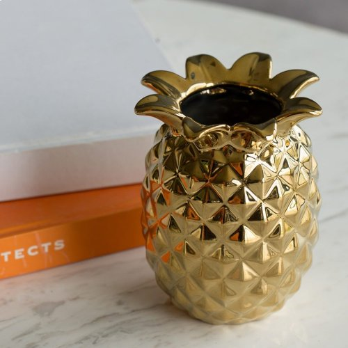 Ceramic Pineapple Vase