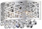 Wall Sconce, Chrome/crystals, Type Jcd/g9 25wx3 Product Image