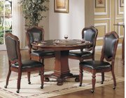 Sunset Trading 5pc Bellagio Dining & Game Table Set Product Image