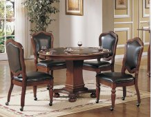 Sunset Trading 5pc Bellagio Dining & Game Table Set