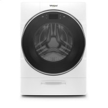 Whirlpool® 4.5 cu.ft Smart Front Load All-in-One Washer and Dryer with Load & Go™ XL Plus Dispenser, 40 Loads - White