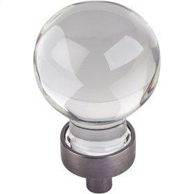 "1-1/16"" Diameter Glass Sphere Cabinet Knob."
