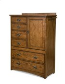 Oak Park Six Drawer Gentleman's Chest Product Image
