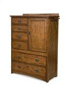 Oak Park Six Drawer Gentleman's Chest Product Image