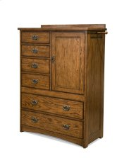Oak Park Six Drawer Gentleman's Chest