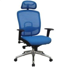 Modrest Liberty Modern Blue Office Chair