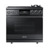 "Dacor 36"" Pro Dual-Fuel Steam Range, Graphite Stainless Steel, Liquid Propane/high Altitude"