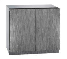 """Modular 3000 Series 36"""" Solid Door Refrigerator With Integrated Solid Finish and Double Doors Door Swing (115 Volts / 60 Hz)"""