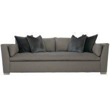 "Serenity Short Sofa Bench Set (90"") in Cerused Greige (796)"