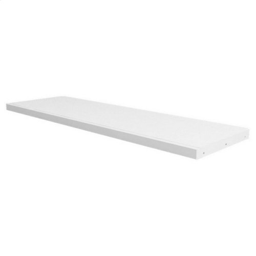 Full Length Desk : White