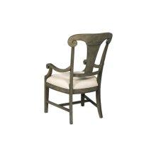 Fulton Splat Back Arm Chair