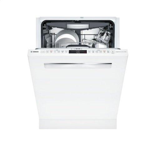 800 Series built-under dishwasher 24'' White SHP878WD2N