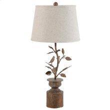 "34915  D15x32.3"" Hawthorn Birds Lamp 2EA/CTN"