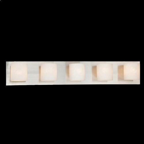 5-LIGHT BATHBAR - Satin Nickel