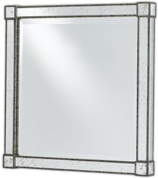 Monarch Mirror, Square - 22sq x 2.5d