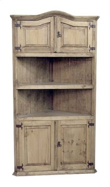 Large Corner Bookcase