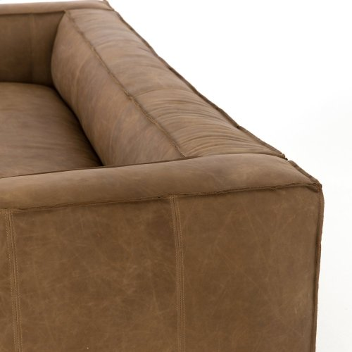Natural Washed Sand Cover Nolita Reverse Stitch Sofa