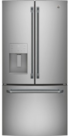 23.8 cu.ft. French Door Bottom-Mount, w/Factory Installed Icemaker