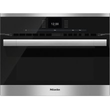 H 6500 BM 24 Inch Speed Oven with combi-modes and Roast probe for precise-temperature cooking.