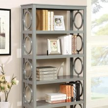 Zoey Display Shelf, Gray