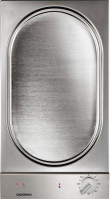 200 Series Vario teppan yaki VP 230 614 Stainless steel control panel Width 12 ''