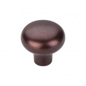 Aspen Round Knob 1 3/8 Inch - Mahogany Bronze