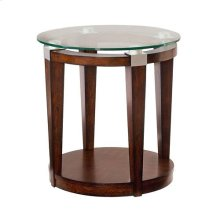 Solitaire Round Accent Table