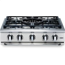 "30"" 5 Burner w/Power-Wok Gas Rangetop - NG"