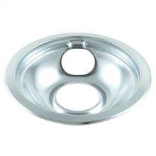 Round Chrome Electric Range Burner Drip Bowl