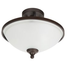 2 Light Semi Flush