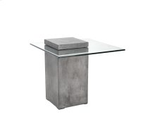 Grange End Table - Grey