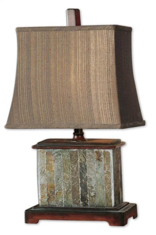 Slate Table Lamp, 2 Per Box