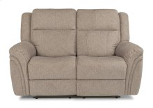 Silas Fabric Power Reclining Loveseat with Power Headrests