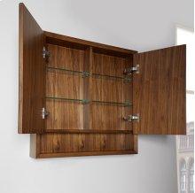 "m4 30"" Medicine Cabinet - Natural Walnut"