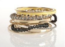 BTQ Mixed Metal Bangles