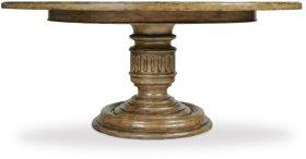 Auberose 72in Round Pedestal Table