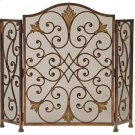 Rockefeller 3-Panel Fireplace Screen Product Image