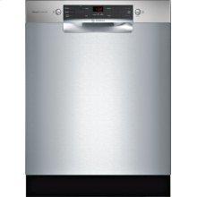 300 Series built-under dishwasher 24'' Stainless steel SGE53X55UC
