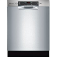 300 Series built-under dishwasher 24'' Stainless steel SGE53X55UC
