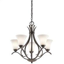 Keiran 5 Light Chandelier Olde Bronze®