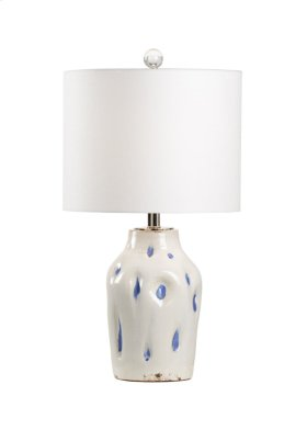 Dimples Large Lamp - Cobalt