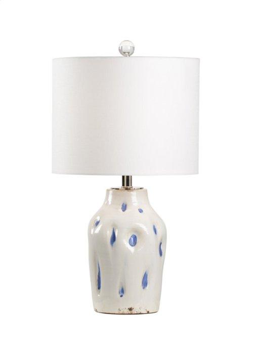 Dimples Large Lamp - Cobalt