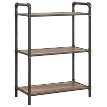 Bronx 3 Tier etagère in Antique Black