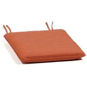 Sidechair Cushion - Dupione Papaya